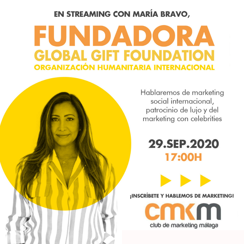 En streaming con... María Bravo